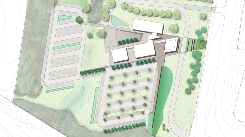 Surface 678 - Research Triangle Park Headquarters Master Plan