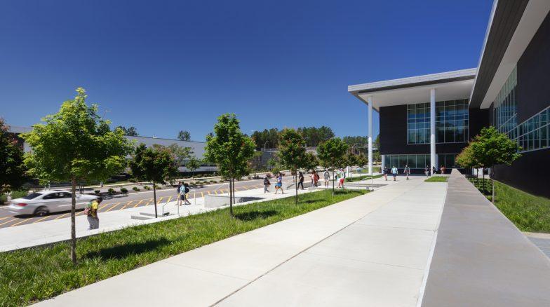 Surface 678 - North Campus, Building K