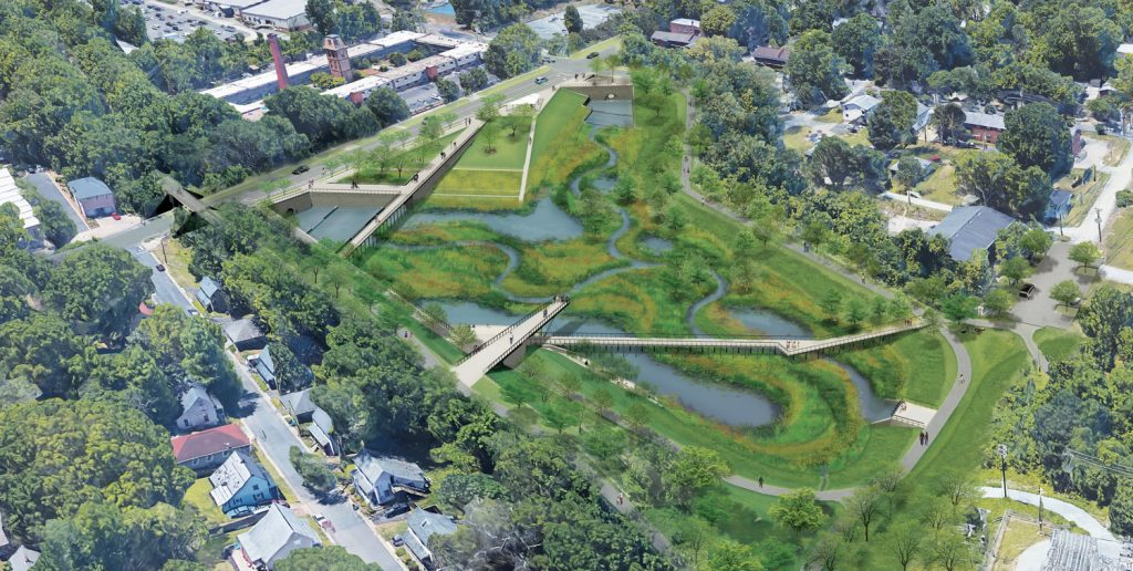 South Ellerbe Creek Stormwater Restoration