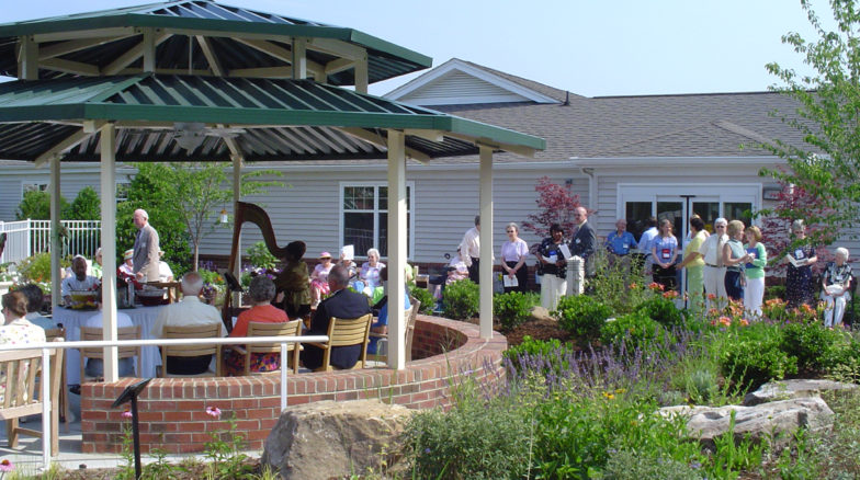 Surface 678 - Croasdaile Village Pavilion Garden