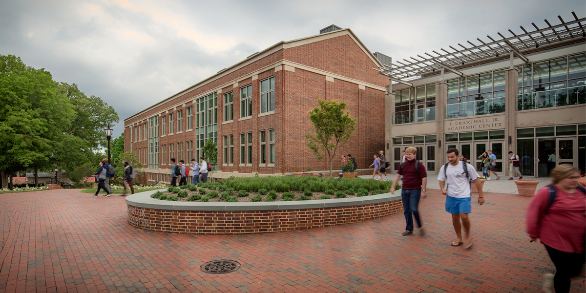 E. Craig Wall Jr. Academic Center - Entry