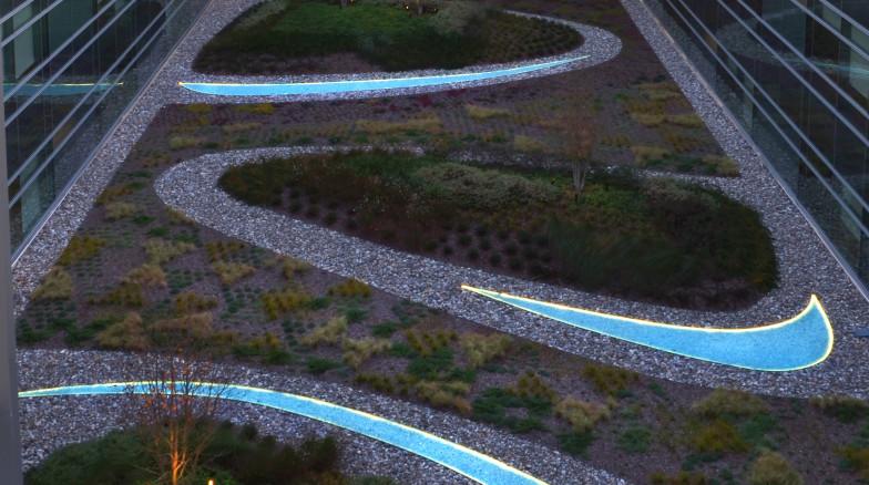 Surface 678 - Duke University Medical Center Pavilion Courtyards