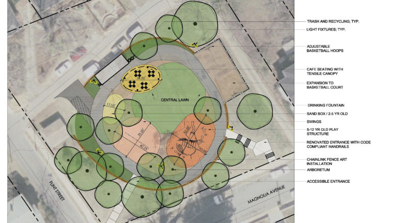 Surface 678 - City of Asheville Playground Renovations