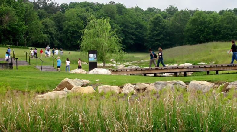 Surface 678 - North Carolina Museum of Art Pond