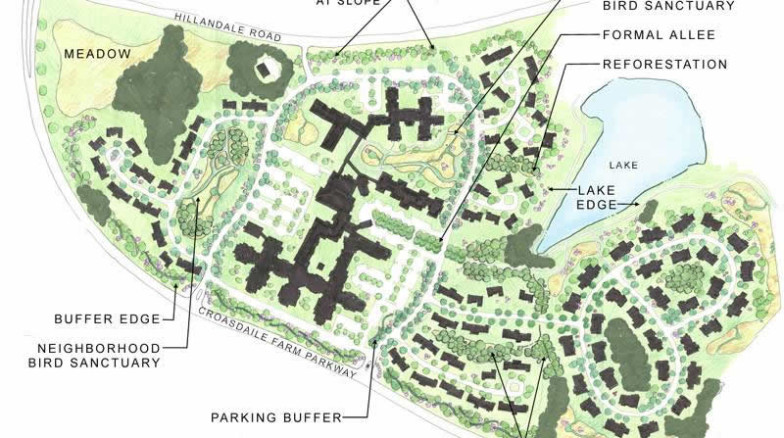 Surface 678 - Croasdaile Village Landscape Master Plan