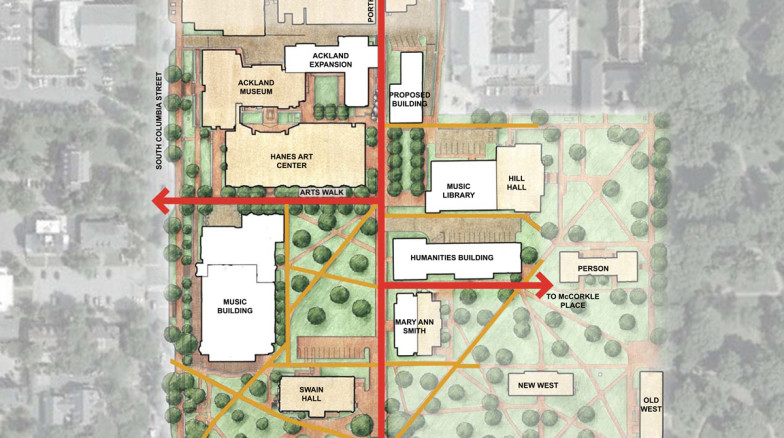 Surface 678 - Arts Commons Master Plan
