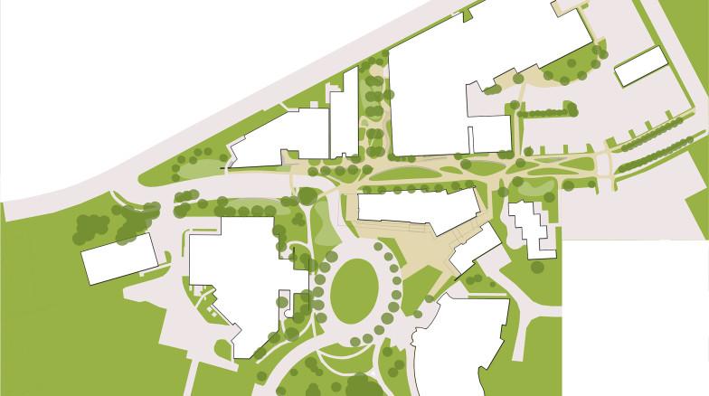 Surface 678 - Ehle Drive Pedestrian Enhancements