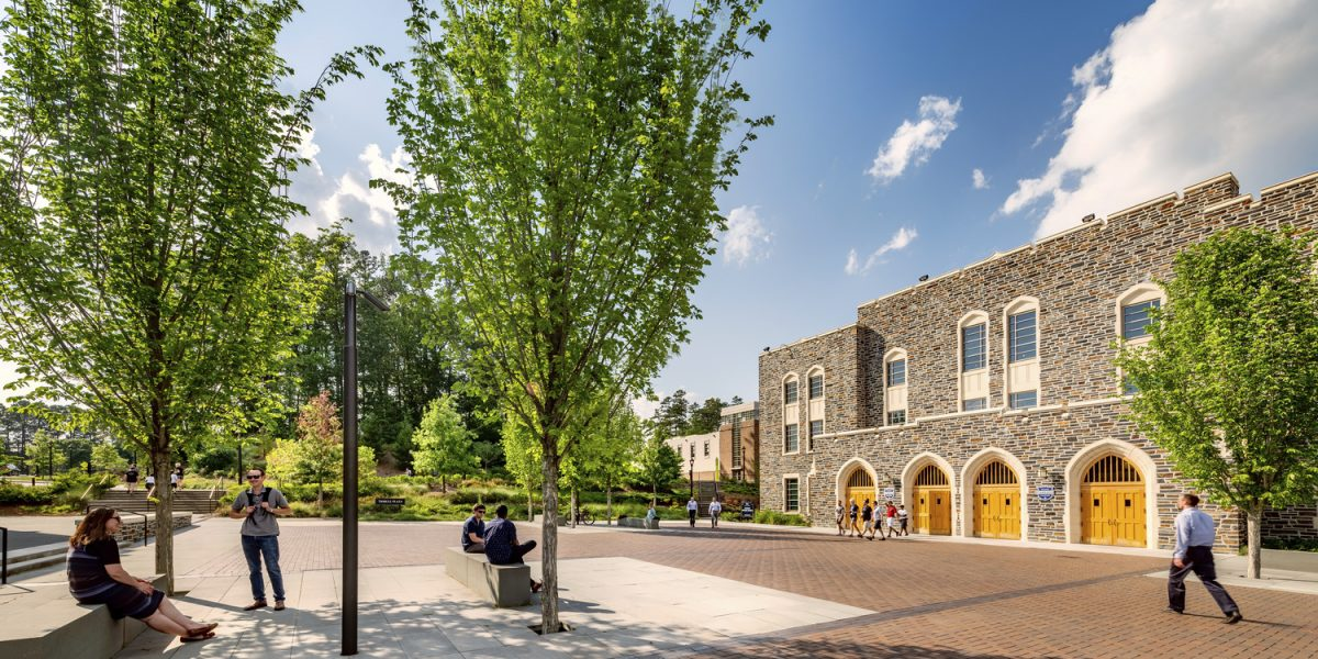 Duke University Cameron Plaza Renovation