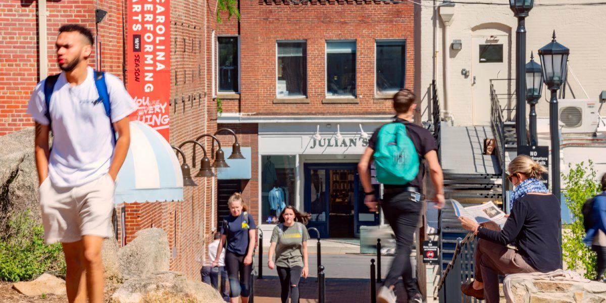 UNC Chapel Hill Porthole Alley