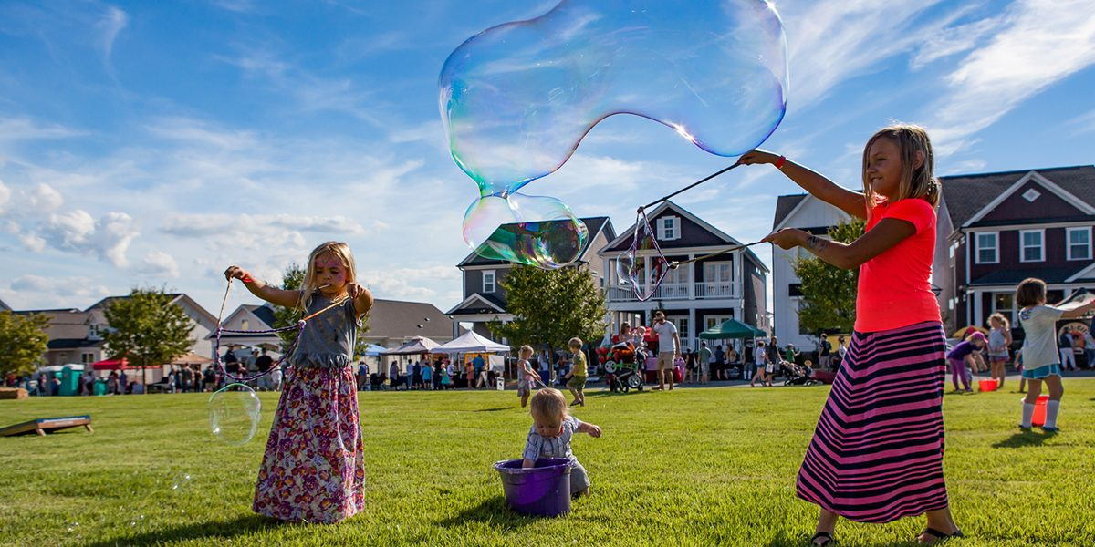 Briar Chapel - Blowing Bubbles