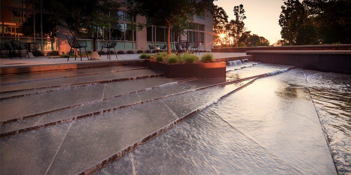 E. Craig Wall Jr. Academic Center - Fountain