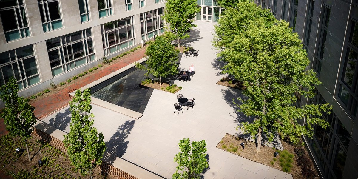 E. Craig Wall Jr. Academic Center - Courtyard