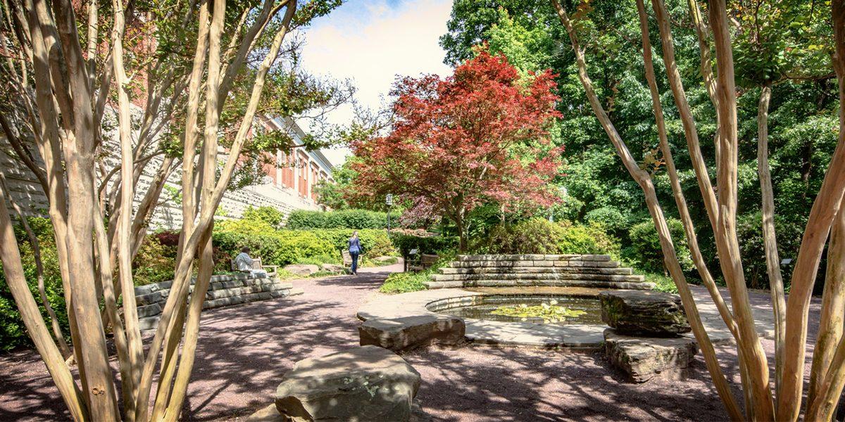 UNC Greensboro Elizabeth Herring Garden