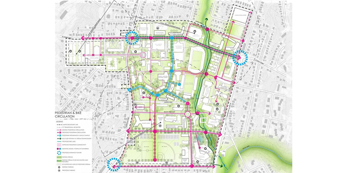 North Carolina Central University Master Plan
