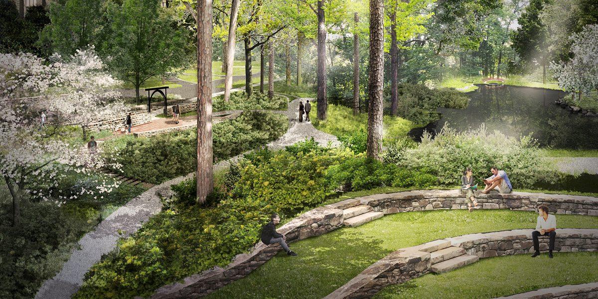 Sarah P. Duke Gardens Gateway