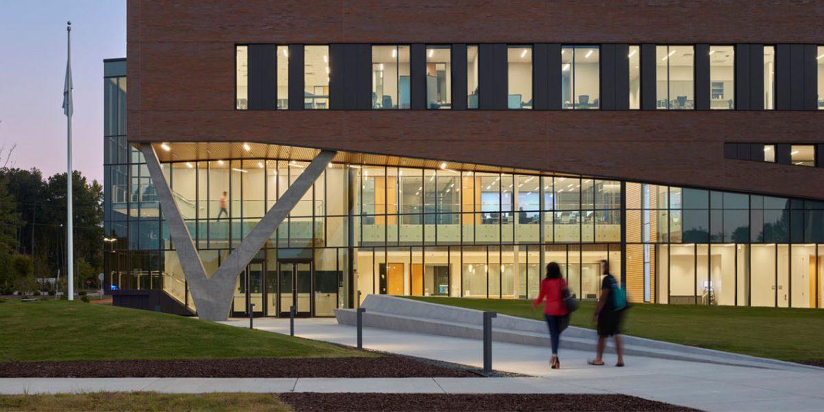 Wake Tech CC RTP Classroom Building 1
