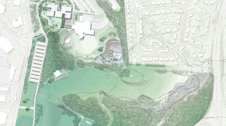 Surface 678 - North Carolina Museum of Art Park Master Plan